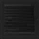 Kratka czarna z żaluzją 22x22