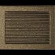 Kratka czarno-złota z żaluzją 22x30