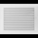 Kratka biała z żaluzją 22x30