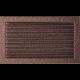 Kratka miedziana z żaluzją 22x37