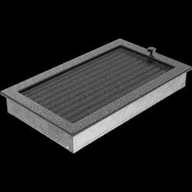 Kratka czarno-srebrna z żaluzją 22x37