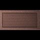 Kratka miedziana z żaluzją 22x45