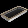 Kratka złoto galwaniczne 22x45
