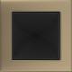 Kratka złoto galwaniczne 17x17