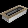 Kratka złoto galwaniczne 11x24