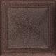 Kratka Oskar miedziana malowana 22x22