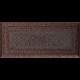 Kratka Oskar miedziana malowana 11x24