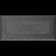 Kratka Oskar czarno-srebrna 11x24