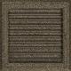 Kratka Oskar czarno-złota z żaluzją 22x22