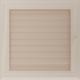 Kratka Oskar kremowa z żaluzją 22x22