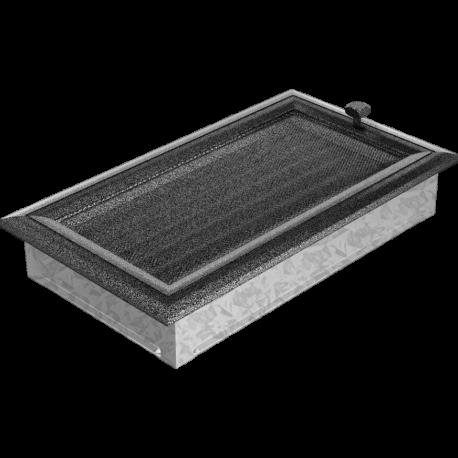 Kratka Oskar czarno-srebrna z żaluzją 17x30