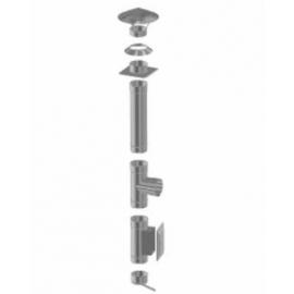 Wkład kominowy 10m fi 160