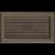 Kratka Oskar czarno-złota z żaluzją 17x30