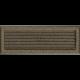 Kratka Oskar czarno-złota z żaluzją 17x49
