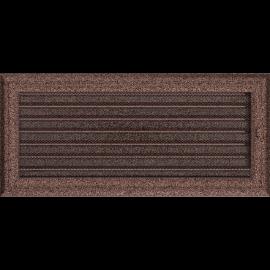 Kratka Oskar miedziana malowana z żaluzją 17x37