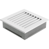 Kratka FRESH biała 17x17