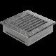 Kratka FRESH czarno-srebrna 17x17