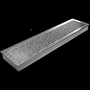 Kratka FRESH czarno-srebrna 17x70