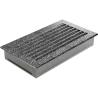 Kratka FRESH czarno-srebrna 17x30