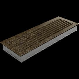 Kratka FRESH czarno-złota 17x49