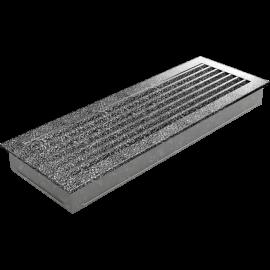 Kratka FRESH czarno-srebrna 17x49