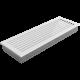 Kratka FRESH biała 17x49