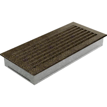 Kratka FRESH czarno-złota 17x37