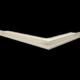LUFT narożny lewy kremowy 76,6x54,7x6