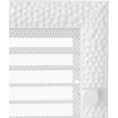 Kratka Venus biała z żaluzją 17x37