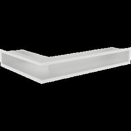 Kratka LUFT narożny prawy biały 40x60x9