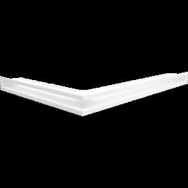 Kratka LUFT narożny prawy biały 54,7x76,6x6