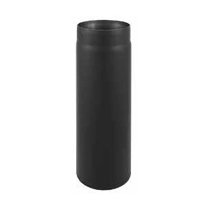 Rura spalinowa czarna prosta fi 160