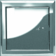 Drzwiczki kominkowe rewizyjne – nierdzewne 200x250