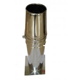 Przedłużenie komina 80 cm (izolowane) fi 150mm