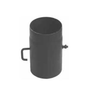 Szyber kominowy fi 160 czarny