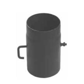 Szyber kominowy fi 120 czarny