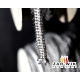 Hermetic Uszczelka szklana sznur do kominka fi 8mm