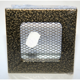 Kratka wentylacyjna stalowa 102x102mm