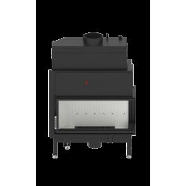 Wkład kominkowy AQUASYSTEM 90x41.R 21 kW