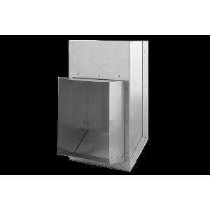 Kształtka L z wylotem prostakątnym KLP150x50 do K1