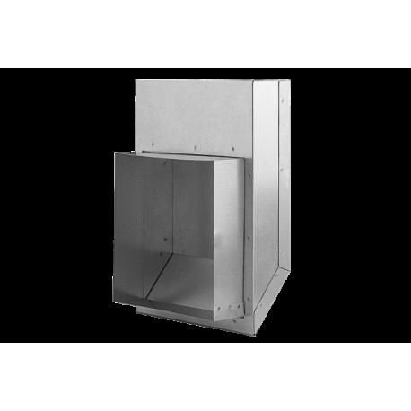 ZWS100-OC Złącze do rur elastycznych SPIRO fi 150
