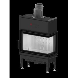 Wkład kominkowy HST 68x43.R 9,3 kW