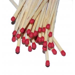 Zapałki do rozpalania w kominku długie 13 cm TUBA - 35 sztuk